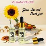 Kleancolor Prime & Chill Beauty Oil - MSS387 Almond, Jojoba & Sunflower Oils_
