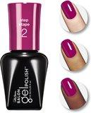 Sally Hansen Salon Gel Polish Gel Nail Color - 245 Cherry, Cherry Bang, Bang!