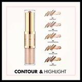 Milani Contour & Highlight Cream & Liquid Duo - 03 Natural/Medium_