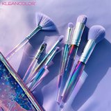 Kleancolor Star Life - 7 Piece Brush Set With Cosmetic Bag - CBS7