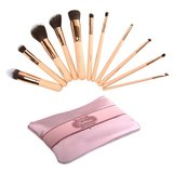 Beauty Creations Ballerina Rose Gold 12 pc Brush Set - 10BCL