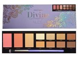 Profusion Divine Eye + Cheek Palette NUDE - 11 shades + applicator brush