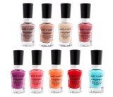 Wet n Wild Deck Your Nails - 9 Mini Megalast Nail Colors Set - 9 x 5ml  - Nagellak - Gift Set - Limited Edition