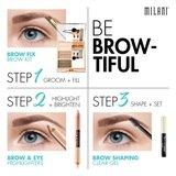 Milani Brow & Eye Highlighter - 02 Matte Cream/Luminous Lift _