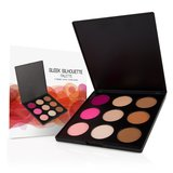 Coastal Scents Sleek Silhouette Palette - Highlight, Contour & Blush - 9 shades _