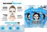 Rude Cosmetics Fizz Bizz Deep Cleanse Bubble Mask 3