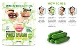 Rude Cosmetics Pickle My face Hidrogel Cucumber Mask _