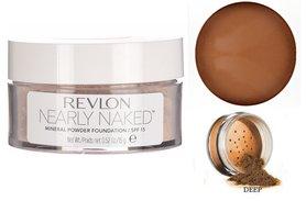 Revlon Nearly Naked Mineral Powder Foundation SPF 15 - 050 Deep