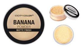 City Color Banana Loose Powder - F0066