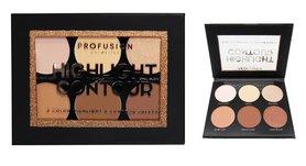 Profusion Highlight & Contour Palette - 6 Shades - 5112SET