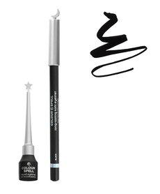 Profusion Colour Spell - Kohl & Liquid Black Eyeliner Set - 800ASET Black
