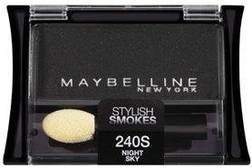 Maybelline Expert Wear Eyeshadow Singles Stylish Smokes - 240S Night Sky