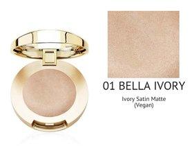 Milani Bella Eyes Gel Powder Eyeshadow Satin Matte - 01 Bella Ivory