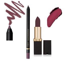 L'Oreal Paris Colour Riche Matte Lipstick and Liner - Gift Set - Make-up geschenkset - 707 Matte-Jestic + 104 Curiosity Killed the Matte