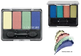 Covergirl Eye Enhancers 4 Kit Shadow - 205 Tropical Fusion