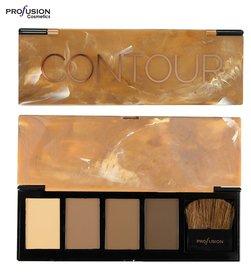 Profusion Absolute Contour Shape & Sculpt Palette - 4 shades + applicator brush