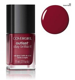 CoverGirl Outlast Stay Brilliant Nail Gloss - 185 Forever Festive