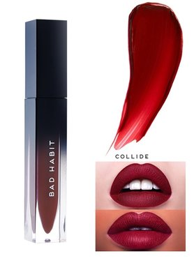 Bad Habit Liquified Matte Lipstick - 02 Collide