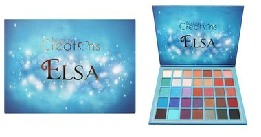 Beauty Creations 35 Color Pro Eyeshadow Palette Elsa - BCE12