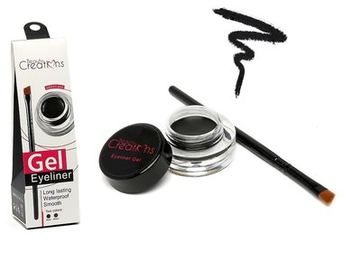 Beauty Creations Gel Eyeliner Long Lasting Waterproof - GD01 Black