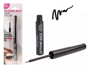 City Color Extreme Bold Liquid Eyeliner - BE0005 True Black