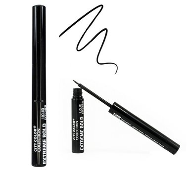 City Color Extreme Bold Liquid Eyeliner - E0064 Black
