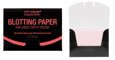 City Color Blotting Paper Infused With Rose - F0054B