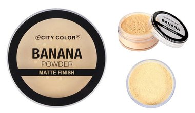 City Color Banana Loose Powder - F0066