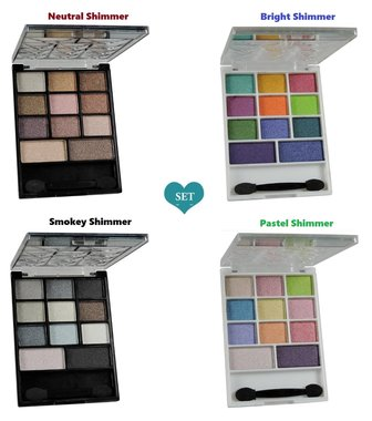 Kleancolor Daily Necessities Collection - Set of 4 Eyeshadow Palette