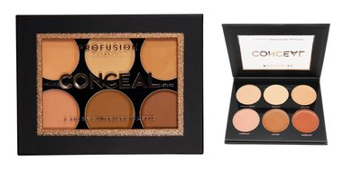 Profusion Conceal Palette - Cream Concealer - 6 Shades - 5111SET