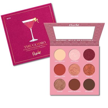 Rude Cosmetics Cocktail Party Eyeshadow Palette - The Cosmo - RC88179