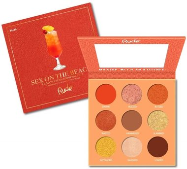 Rude Cosmetics Cocktail Party Eyeshadow Palette - Sex On The Beach - RC88180
