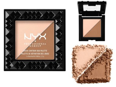 NYX Cheek Contour Duo Palette - CHCD01 Cheek On Cheek