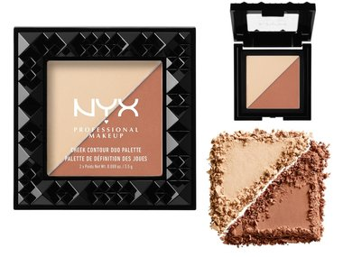 NYX Cheek Contour Duo Palette - CHCD03 Perfect Match