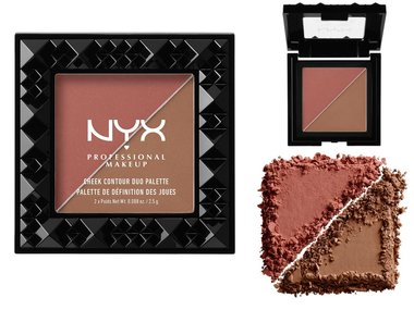 NYX Cheek Contour Duo Palette - CHCD04 Wine & Dine