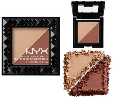 NYX Cheek Contour Duo Palette - CHCD06 Ginger & Pepper
