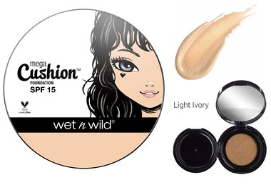 Wet 'n Wild MegaCushion Liquid Foundation SPF15 - 106A Light Ivory
