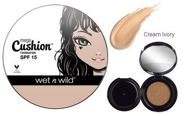 Wet 'n Wild MegaCushion Liquid Foundation SPF15 - 107A Cream Ivory