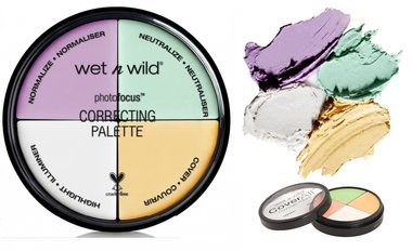 Wet 'n Wild Photo Focus Correcting Palette Concealer - 349 Color Commentary
