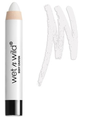 Wet 'n Wild Fantasy Makers Body Crayon - 12937 White - Cream Jumbo Stick Face