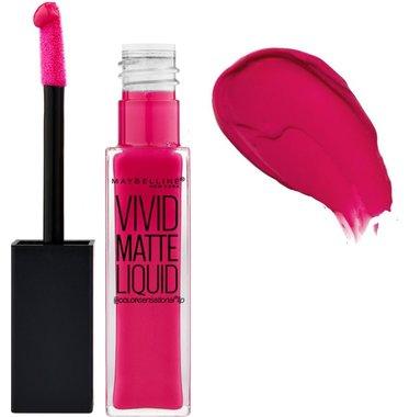 Maybelline Vivid Matte Liquid Lipstick - 25 Fuschia Ecstasy