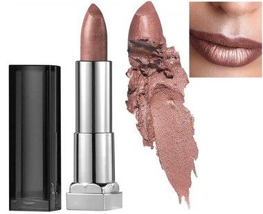 Maybelline Color Sensational Matte Metallic Lipstick - 974 Silk Stone