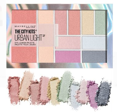 Maybelline The City Kits All-in-One Eye & Cheek Palette - 150 Urban Light
