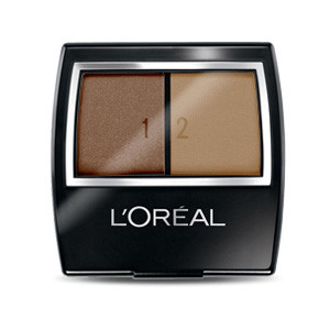 Loreal Wear Infinite Studio Secrets Eye Shadow Duos - 832 Mocha Buff