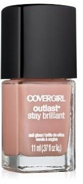 CoverGirl Outlast Stay Brilliant Nail Gloss - 150 Megawatt Mauve