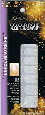 Loreal Colour Riche Diamond Collection Nail Stickers - 703 Elite Chic
