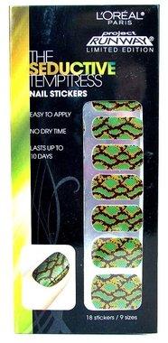 Loreal Project Runway Nail Stickers - The Seductive Temptress
