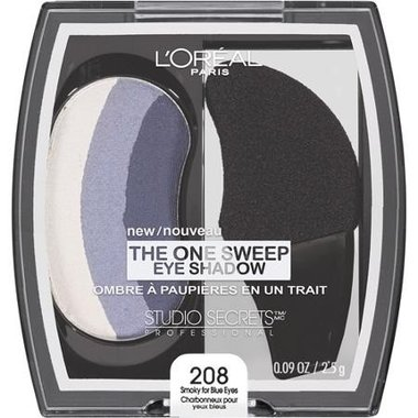 Loreal Studio Secrets The One Sweep Oogschaduw - 208 Smoky for Blue Eyes
