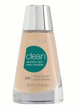 Covergirl Clean Sensitive Skin Foundation - 220 Creamy Natural