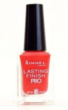 Rimmel London Lasting Finish PRO nagellak - 310 Sunset Orange
